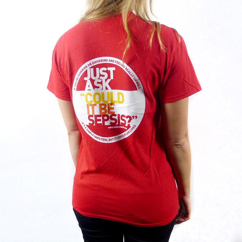 T Shirts Sepsis Trust